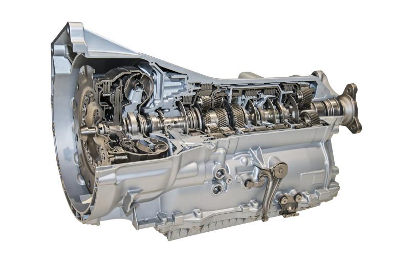 Modernes Getriebe für PKW